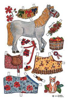 Pony paper dolls 1
