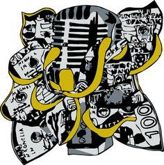 Logo Design Vectorization and Formatting for Magnolia Music Group, done by Moksha Media of Dallas - Daymond E. Media Logo, Best Logo Design, Cool Logo, Web Development, Magnolia, Dallas, Branding, Group, Logos