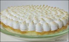 Lemon Pie - Tarta de Limón Merengada. Suave, ligera y con un contraste muy interesante entre el limón y el merengue. Buenísima!!