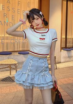 Kpop Fashion, Kawaii Fashion, Girl Outfits, Cute Outfits, Boys And Girls Clothes, Boy Or Girl, Street Wear, Shit Happens, Collection