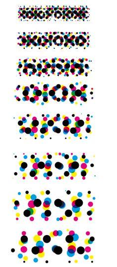 #7 Experimentation: Halftone & words
