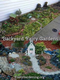 "Backyards offer a huge scale for your fairy garden.  Not only can you create a huge farm, but you can have multiple buildings with multiple ""scenes"".  A pig barn, a cattle barn, a horse barn, and maybe a blacksmithing barn. … Continued"