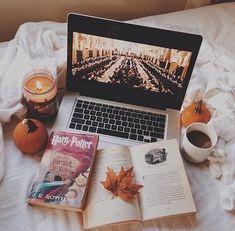 Картинка с тегом «autumn, book, and harry potter»