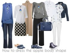 How to dress the apple body shape | 40+ Style