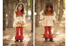 www.frostedproductions.com | #utah #commercial #photographer #little #girl #fall #outfit #ideas #cute #smile #pine #trees #woods #sunlight