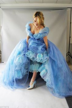 Lily James Talks About 'That Dress' She Wore In Cinderella