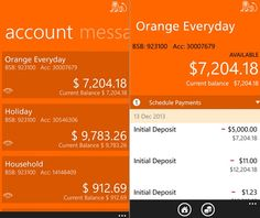 Ing Direct Bank From Australia Has Released Their Official Mobile Banking For Windows Phone Devices You Can Use This Accounts