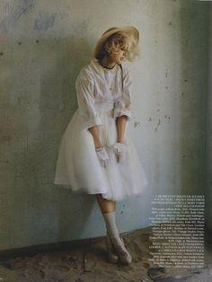 Agyness Deyn photographed by Tim Walker for Vogue UK