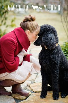 Standard Poodle LOVE : Photo