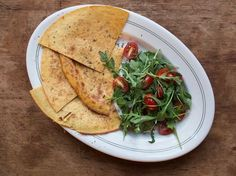 This rosemary-scented chickpea-flour crepe is a mainstay of southern French markets. Serve it as an appetizer, or with a salad for a light meal.