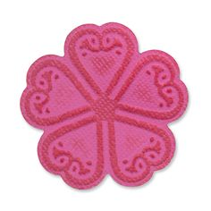 Sizzix.com - Sizzix Embosslits Die - Flower, Old Country Bloom