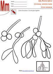 mistletoe-christmas-craft-worksheet