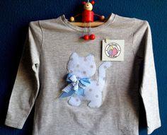 camiseta gato coqueto