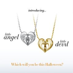 We are ecstatic to have our new little Devil and Little Angel just in time for Halloween! They have got you covered no matter if your mood is marvelous or mischievous!  #trickortreat #halloween #alexwoo #littleicons #devil #angel #lovegold #savorsilver #madeinny  http://www.alexwoo.com/little-rock-star-devil-in-14kt-yellow-gold.html  http://www.alexwoo.com/little-faith-angel-in-sterling-silver.html