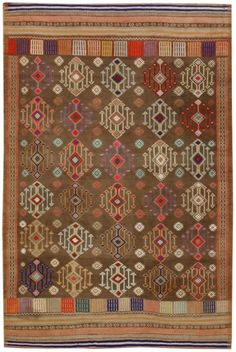 3293 Anatolian Vintage Cicim 156x232cm