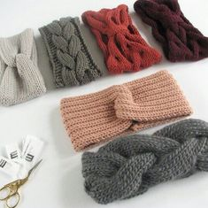 Headbands - - Knitting for beginners,Knitting patterns,Knitting projects,Knitting cowl,Knitting blanket Knitting Terms, Knitting Projects, Knitting Patterns, Crochet Patterns, Knitting Ideas, Easy Knitting, Knitting Yarn, Knit Headband Pattern, Knitted Headband