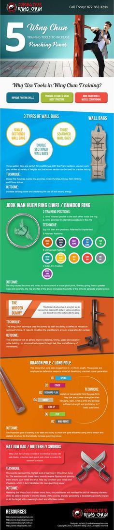 5 Wing Chun Training Tools To Increase Punching Power