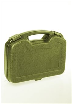Small Hard Plastic Olive Gun Case | Buy Now at camouflage.ca