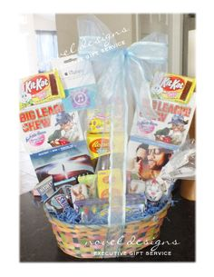 Hoppy easter giftbasket delivered lasvegas noveldesignsllc teen easter gift basket assorted candy dvd movies gift cards gift baskets negle Choice Image