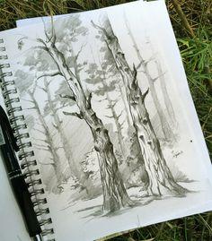 ArtStation - Pencil drawing, Svesla Tasla