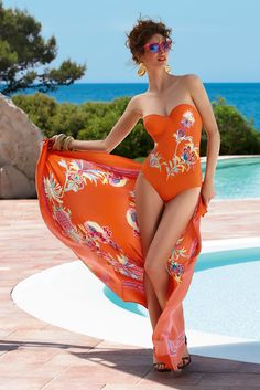 Lise Charmel, Fleur Sortilège Swimwear 2014, Bain 2014