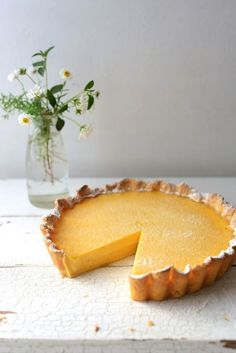 Summer Lemon Tart Recipe