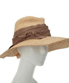 aquagirl(アクアガール)の「Lola HATS リボンツバ広ハット(ハット)」です。このアイテム着用のコーディネートをチェックすることもできます。