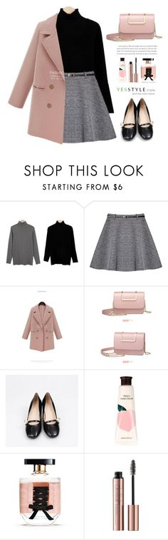 """YesStyle - 10% off coupon"" by yexyka ❤ liked on Polyvore featuring Sugar Town, BeiBaoBao, Innisfree, Victoria's Secret, yesstyle and prefall"