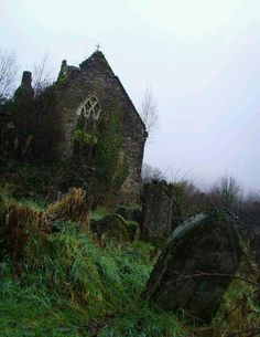 Abandoned church in Britain