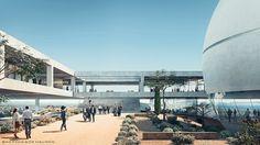 The Berggruen Institute unveils Herzog & de Meuron's masterplan for new Scholars' Campus in L.A. | News | Archinect