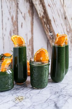 Holiday Detox: The Mean Green Smoothie | halfbakedharvest.com @hbharvest