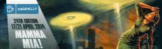 Paganello 2014 Coppa del mondo di beach ultimate frisbee a Rimini dal 17 al 21 aprile 2014 nel tratto di spiaggia dalla 28 alla 44 tra gare, musica e spettacoli