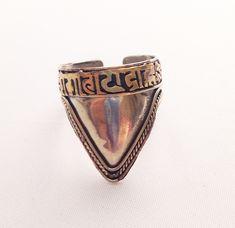 Newari Mantra Ring