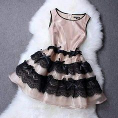 Glamurosa Cute Lace Dresses, Formal Dresses, Estilo Fashion, Bows, Womens Fashion, Color, Outfits, Clothes, Stitching