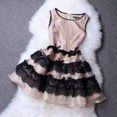 Glamurosa Cute Lace Dresses, Formal Dresses, Estilo Fashion, Bows, Womens Fashion, Outfits, Clothes, Color, Stitching