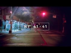 NY 41×41, Infinite Zoom Illusion Video of Manhattan's Fifth Avenue