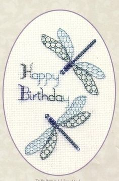 If it's someone's birthday today then share this! #crossstitch #needle #thread #relax #craft #home #birthday
