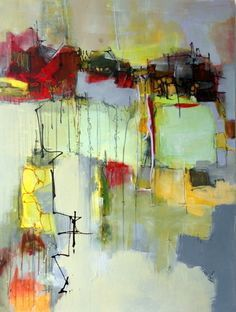"Contemporary Painting - ""Making My Way"" (Original Art from Janet Wayte)"