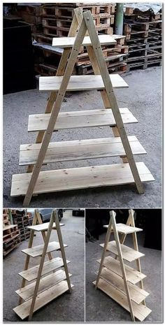 16 Excellent And Awesome Repurposed Garden Decor - Diy Garden Decor İdeas Recycled Garden, Recycled Pallets, Wood Pallets, Diy Garden, Recycled Materials, Garden Ideas, Pallets Garden, Pallet Wood, Garden Plants
