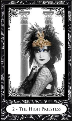 Um, Siouxsie as the High Priestess??  Need this. Limited Edition New Wave Tarot