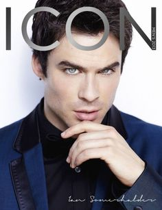#TVD's Ian Somerhalder Covers Icon Magazine