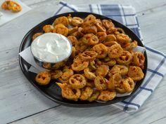 Fried Jalapenos, Pickling Jalapenos, Appetizer Dips, Appetizer Recipes, Sour Cream, Sauces, Ranch Recipe, Jalapeno Recipes, Fried Pickles