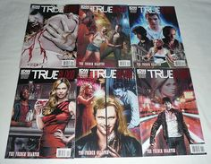 €9.21 HBO tv comics TRUE BLOOD THE FRENCH QUARTER #1 2 3 4 5 6 ~ FULL SET
