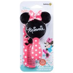 Pink Minnie, Minnie Mouse, Baby Hair Brush, Baby Disney, Joy, Make It Yourself, Brushing, Thick Hair, Shoes Online