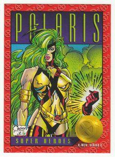 X-Men Series 2 - Polaris # 22 Skybox 1993