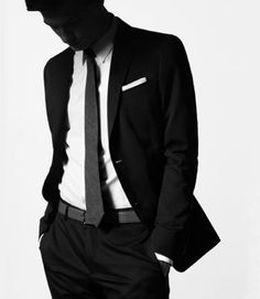 Slim Ties and Black Suits