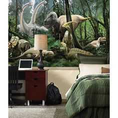 Dinosaurs Wall Mural - for the dino lovers in your life!