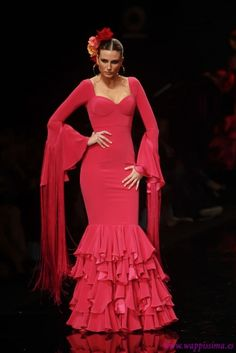 Traje de Flamenca - Vicky-Martin-Berrocal - Simof-2012