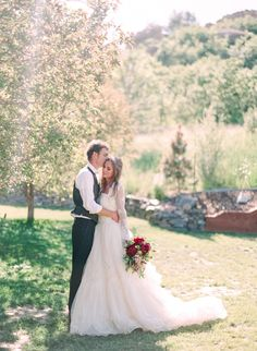 Colorado Mountain Wedding Portraits | Connie Whitlock | Peony and Lace Outdoor Summer Wedding