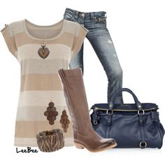 Earthy, Jeans, Boots   # Pin++ for Pinterest #